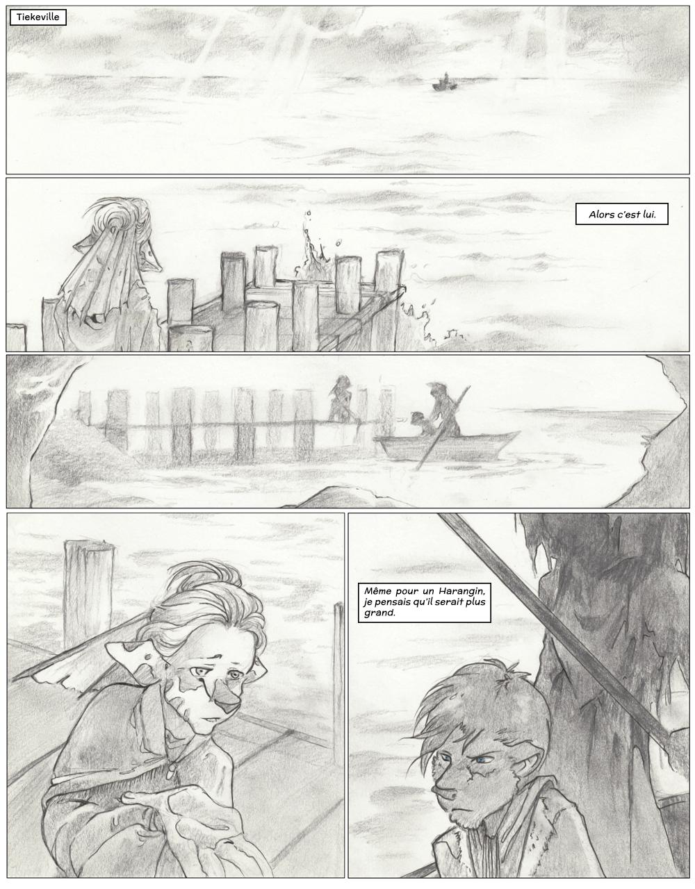 Chapitre trois : L'Histoire de Jamet : Planche 1
